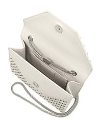 Saint Laurent White Betty Small Leather Shoulder Bag