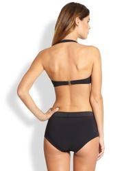Shan | Black Padded Bandeau Bikini Top | Lyst
