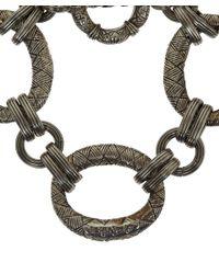 Stephen Dweck - Metallic Silver Engraved Link Bracelet for Men - Lyst