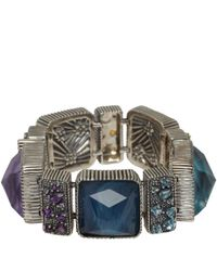 Stephen Dweck - Metallic Silver Gemstone Bracelet - Lyst
