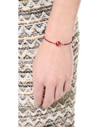 Tai | Red Center Stone Bracelet | Lyst