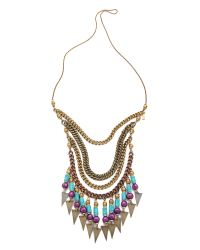 Vanessa Mooney | Multicolor Crossroads Statement Necklace | Lyst