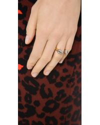 Vita Fede Metallic Titan Two Tone Ring