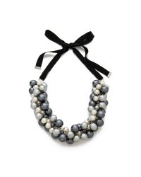 By Malene Birger | Black Canina Necklace | Lyst