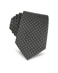 Dior Black And White Signature Tie for men