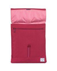 Herschel Supply Co. Purple City Mid Volume Rubber Backpack for men