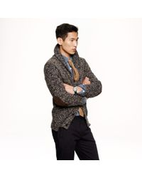 J.Crew Gray Wallace Barnes Donegal Cardigan for men