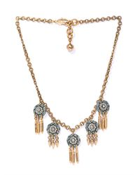 Lulu Frost | Blue Audrey Sea Necklace | Lyst
