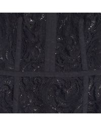 Madewell Black Night Lace Sheath