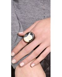Marc By Marc Jacobs Natural Olive Cameo Ring