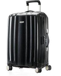 Samsonite Black Cubelite Four wheel Suitcase 68cm