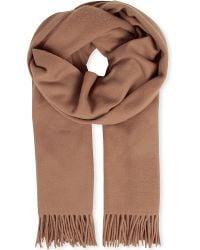 Acne Studios Brown Canada Wool Scarf