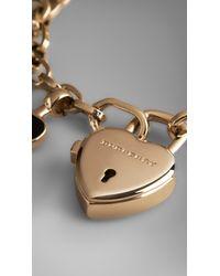 Burberry Red Heart Charm Bracelet