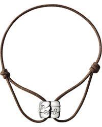 Georg Jensen | Fusion 18ct White Gold Diamond Bracelet | Lyst