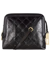 Hobbs Black Signature Linden Bag