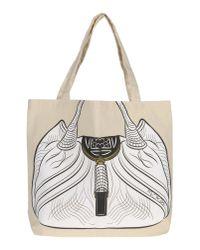 My Other Bag... Natural Large Fabric Bag