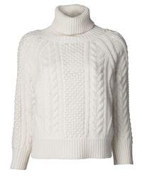 Altuzarra White Waverly Sweater