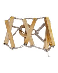 Arielle De Pinto | Metallic Xxx Scaffold Bracelet | Lyst