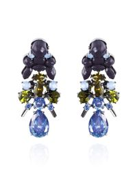 EK Thongprasert - Blue Streptocarpus Saxorum Earrings - Lyst