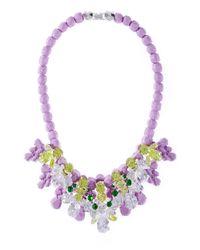 EK Thongprasert - Purple Green Goddess - Lyst