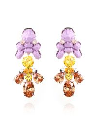 EK Thongprasert - Purple Impatiens Fusion Earrings - Lyst