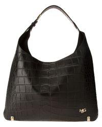 Givenchy Black Hdg Hobo Tote