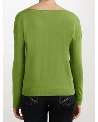 John Lewis Green Cowl Neck Oversized Sweatshirt
