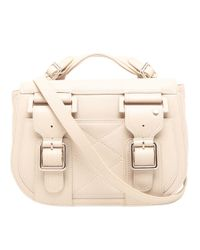 Laurence Dacade Natural Lila Leather Satchel Bag