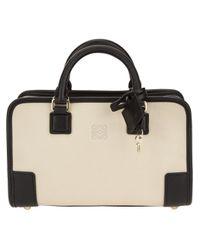 Loewe White Amazona 28 Bag