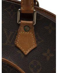 Louis Vuitton Brown Ellipse Monogram Bag