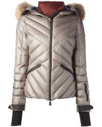 Moncler Grenoble Gray Makalu Ski Jacket