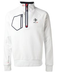 Ralph Lauren Blue Label White Sport Sweater for men