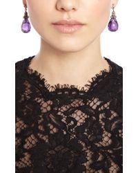 Simon Teakle - Purple Antique Carved Amethyst Earrings - Lyst