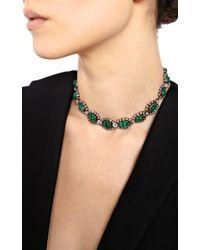 Simon Teakle - Metallic Antique Emerald and Diamond Necklace Detachable Into Two Bracelets - Lyst
