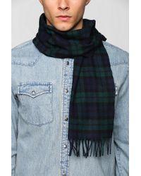 Urban Outfitters - Black Pendleton Whisperwool Muffler Scarf for Men - Lyst