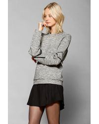 Urban Outfitters | Gray Cameo Blue Sky Pullover Sweatshirt | Lyst