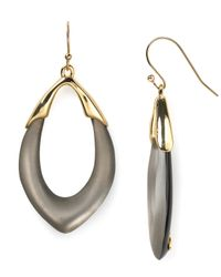 Alexis Bittar | Gray Lucite Orbit Link Earrings | Lyst