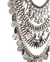 ASOS Metallic Premium Indian Coin Necklace