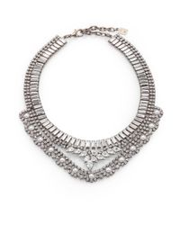 DANNIJO - Metallic Swarovski Crystal Necklace - Lyst