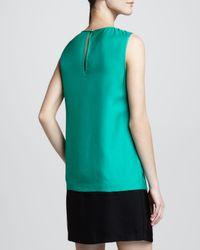 kate spade new york Green Rosita Sleeveless Shift Dress