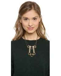 Pamela Love - Metallic Comet Necklace - Lyst