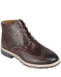 Sebago Brown Mens Pinehurst Boots