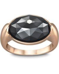 Swarovski | Black Vanilla Ring | Lyst