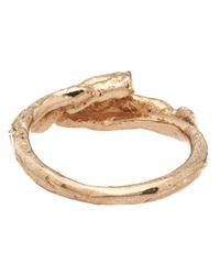 Tamara Akcay - Metallic Handmade Maranta Ring - Lyst