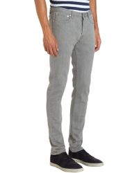 A.P.C. - Five Pocket Jeans Gray for Men - Lyst