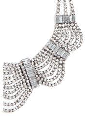 BaubleBar - Metallic Crystal Draper Bib - Lyst