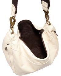 Jas MB - White Sling Hobo Bag - Lyst