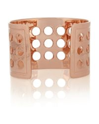 Arme De L'Amour | Pink Rose Gold-Plated Cuff | Lyst