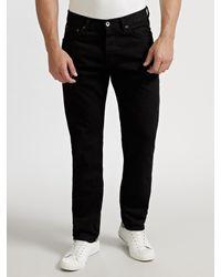 Ben Sherman Black Turnmill Slim-leg Jeans for men