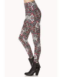 Forever 21 - Mirrored Tribal Print Harem Pants - Lyst